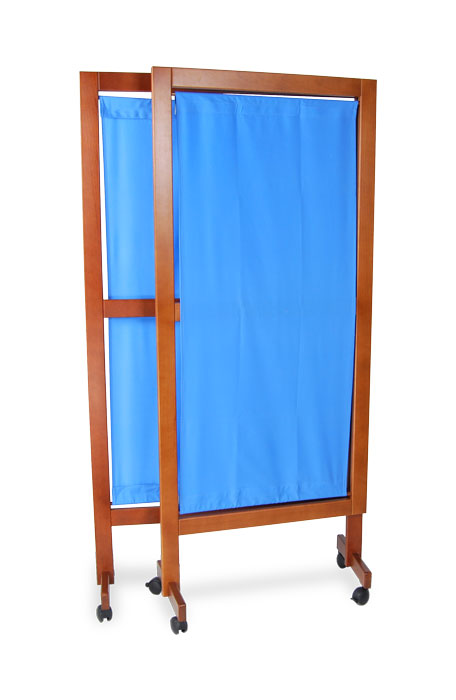 Wooden medical screens